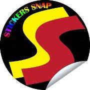 stickerssnap vector design