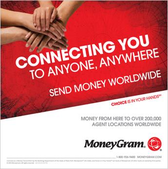 How do you receive money from MoneyGram?