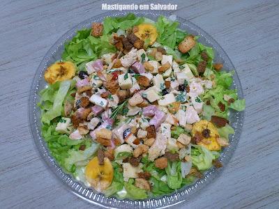Alecrim Alimentos Saudáveis: Salada Caribe