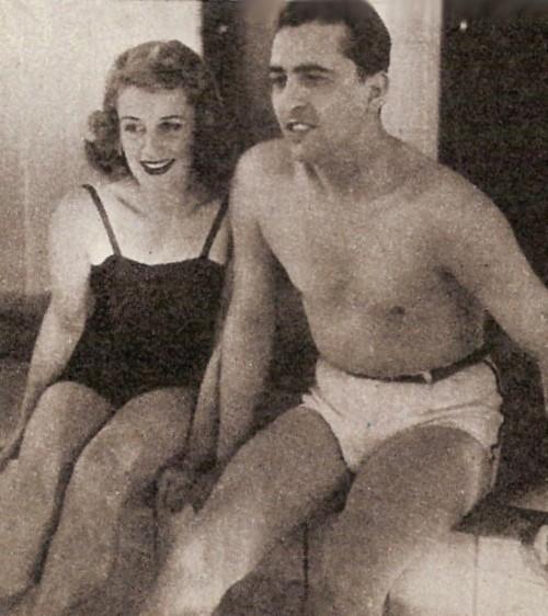 Amanda Ledesma y Hugo del Carril