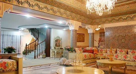 D coration salon marocain d coration pour salon marocain for Deco salon ancien