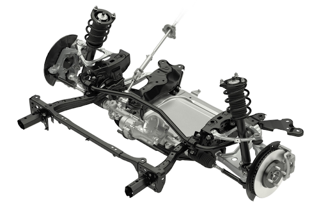 Mazda MX-5 Roadster ND Front Suspension