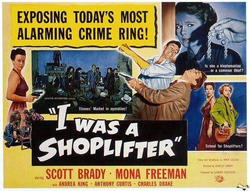"""I Was a Shoplifter"" (1950)"