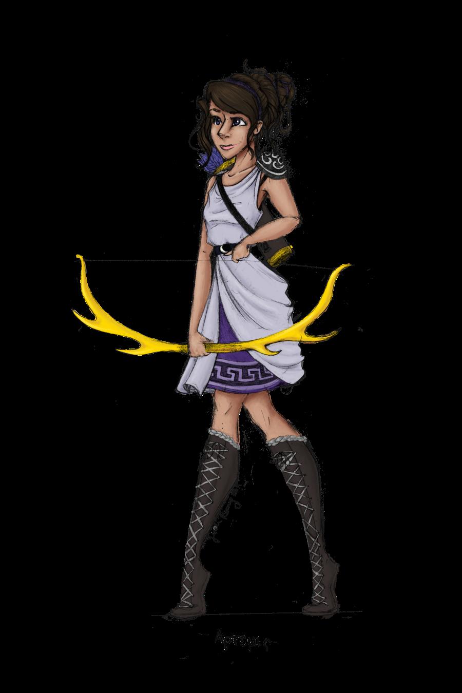 Hera Greek Goddess Cartoon Athena goddess