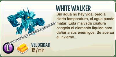 imagen de la descripcion del monstruo white walker