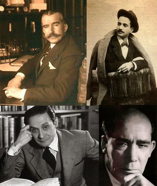 Teatro de la Generación del 27: Pedro Muñoz Seca, Miguel Mihura Alvarez, Jardiel Poncela y Alejandro Casona