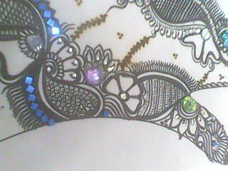 Mehndi Drawing Photos : Mehndi designs drawing books art black