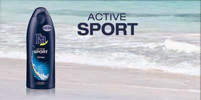 doccia schiuma FA Active Sport Ginkgo