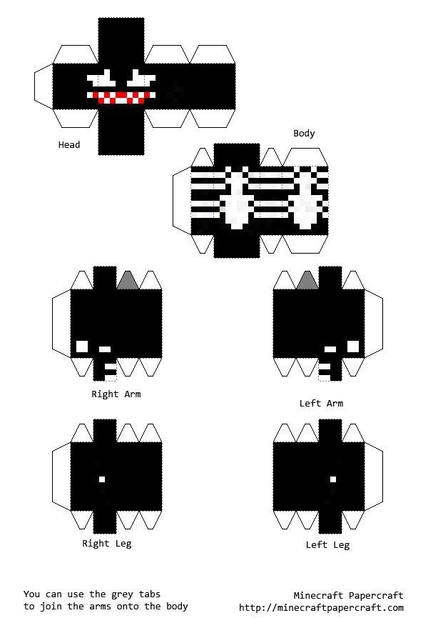 moldes para minecraft