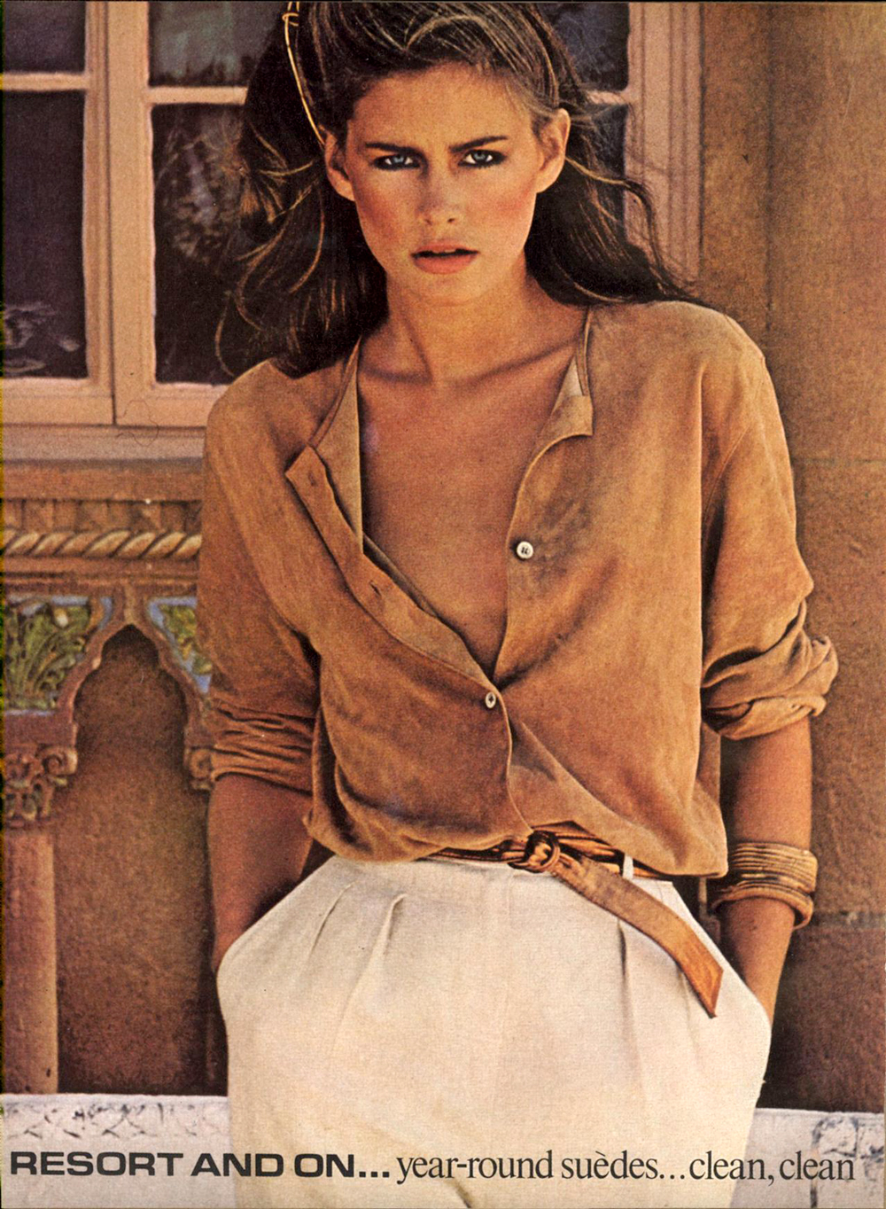 how to style suede / 1970s style inspiration / vogue 1974 / fashioned by love british fashion blog