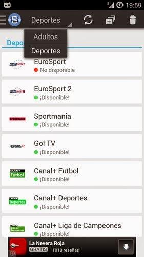 Con Splive Tv tendrás muchos canales de calidad a tu disposición