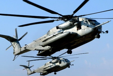 Helicopter crash kills 7 Marines