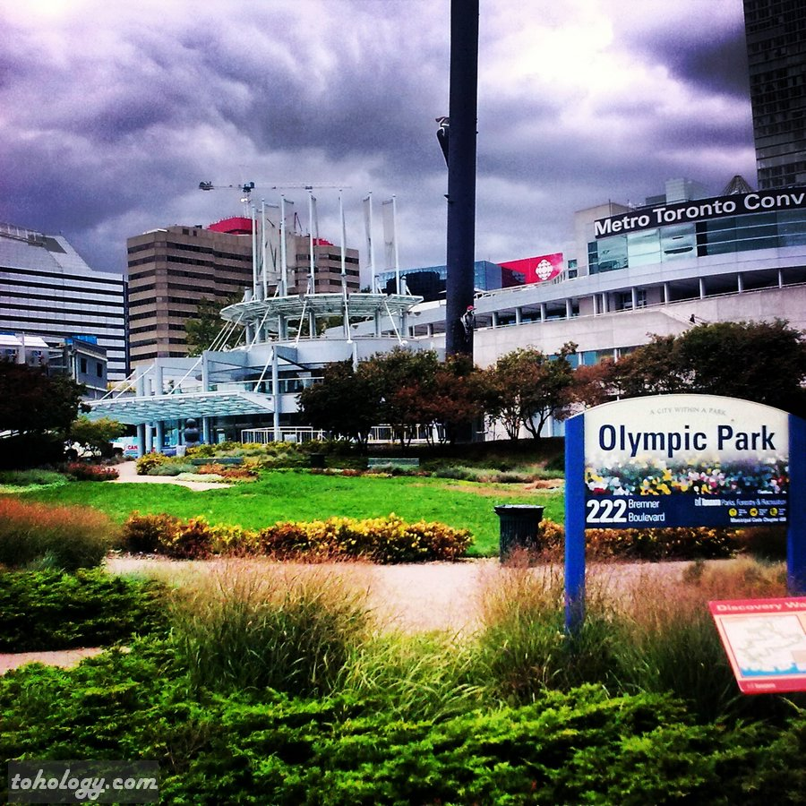 The Olympic Park in Toronto Canada