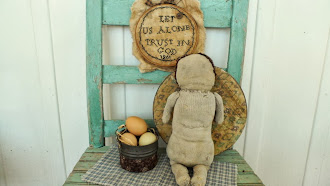 SOLD Early Hand Stitched Rag Doll by Pamela Haber - One of a  kind - available - 125.00