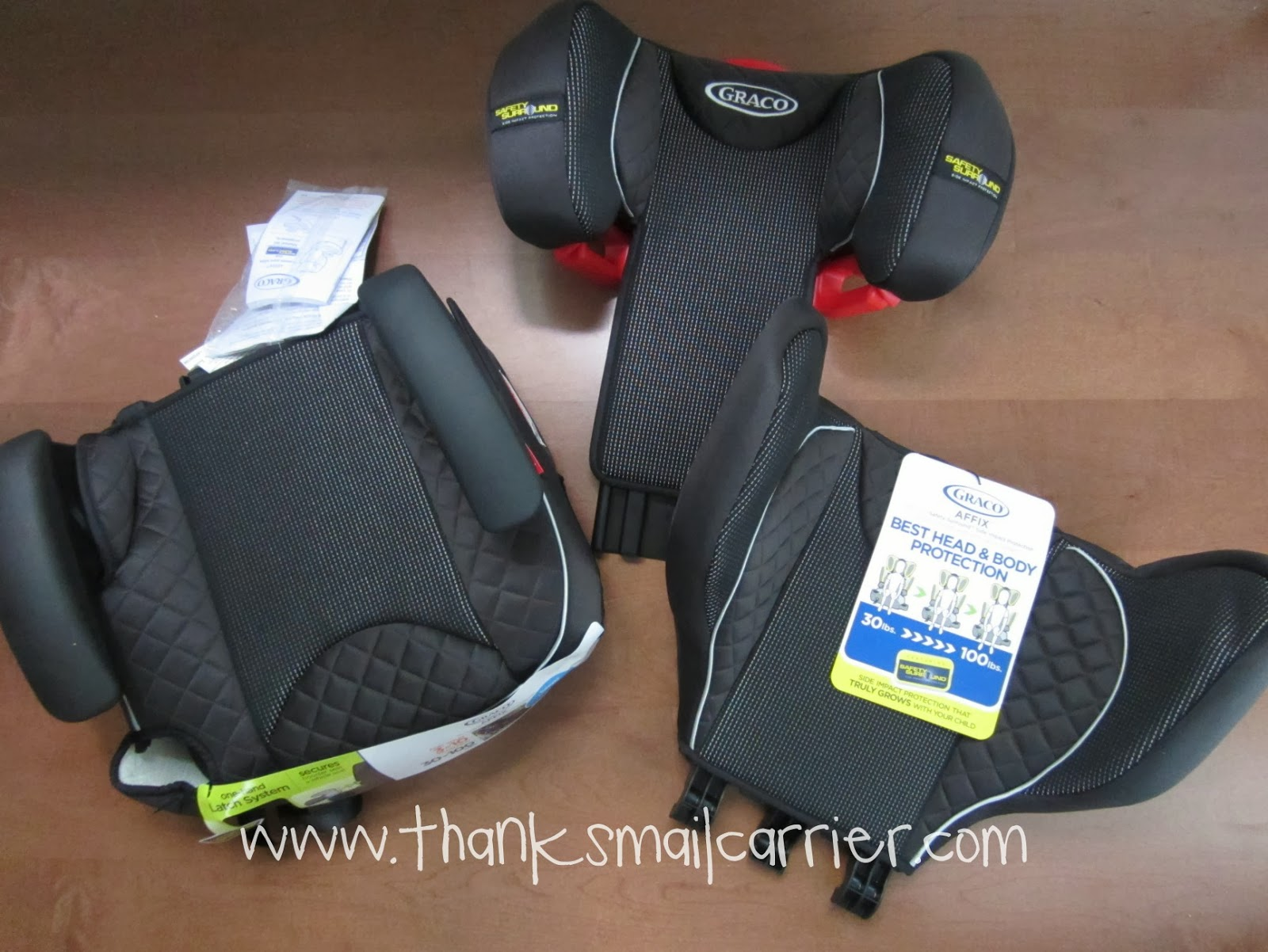 Graco booster seat assembly