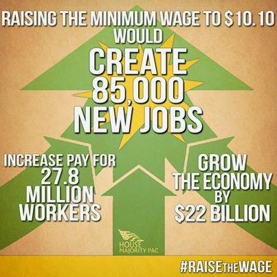 Minimum wage creates jobs!