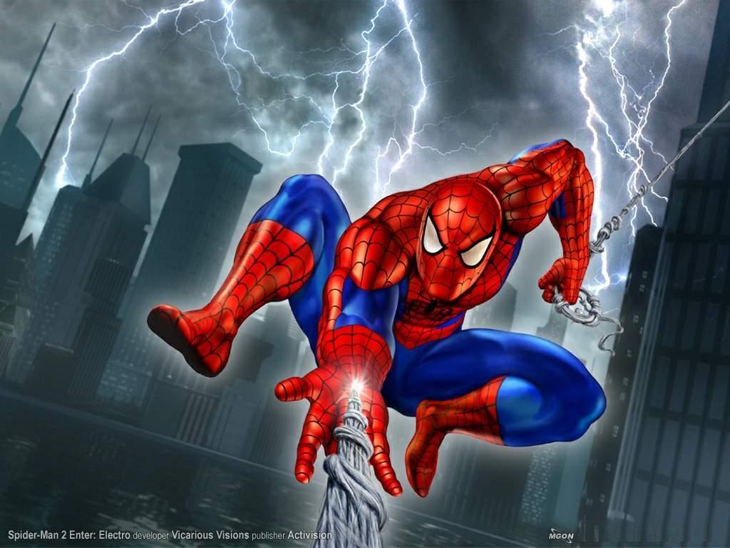 El hombre araña dibujos animados - Imagui