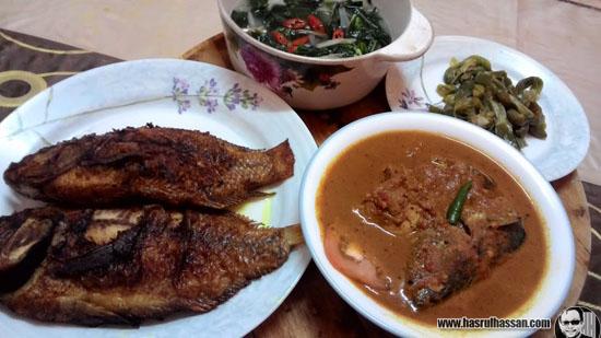 Resepi Gulai Kerisik Ikan Tongkol