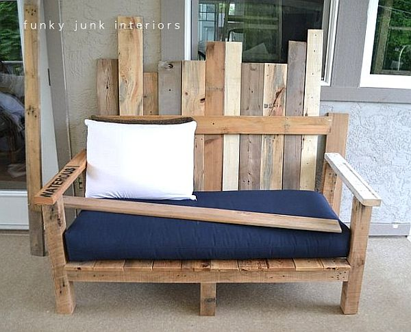 Un sof para tu patio o jard n for Sofa exterior madera