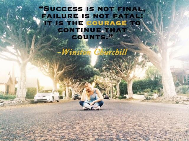 Failure quotes, Winston Churchill, The Goldrush Blog
