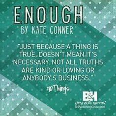http://www.pinterest.com/kateconner/10-things-enough/