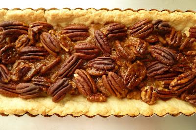 Chocolate Pecan Caramel Shortbread - made September 2, 2013 from ...