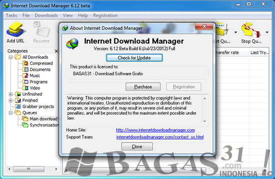 Internet Download Manager 6.12 Beta Build 6 Full Patch 2