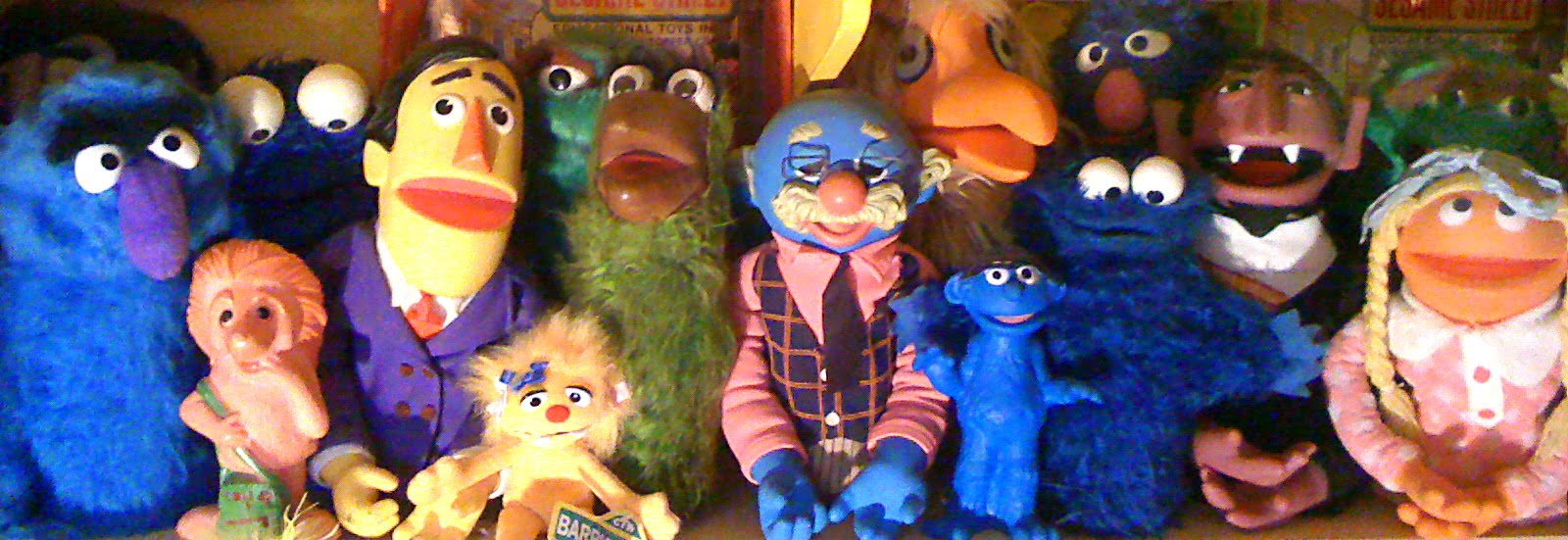 Vintage SESAME STREET Collectibles