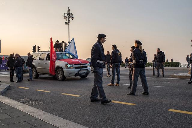 Manifestazione Movimento Trieste Libera Rive