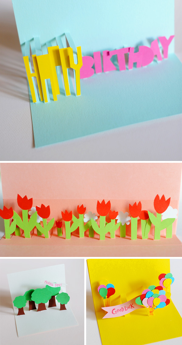 Diy pop up cards solutioingenieria Gallery