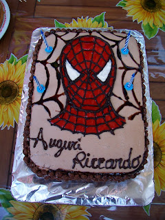 Torta Spiderman Dolce Come Una Caramella