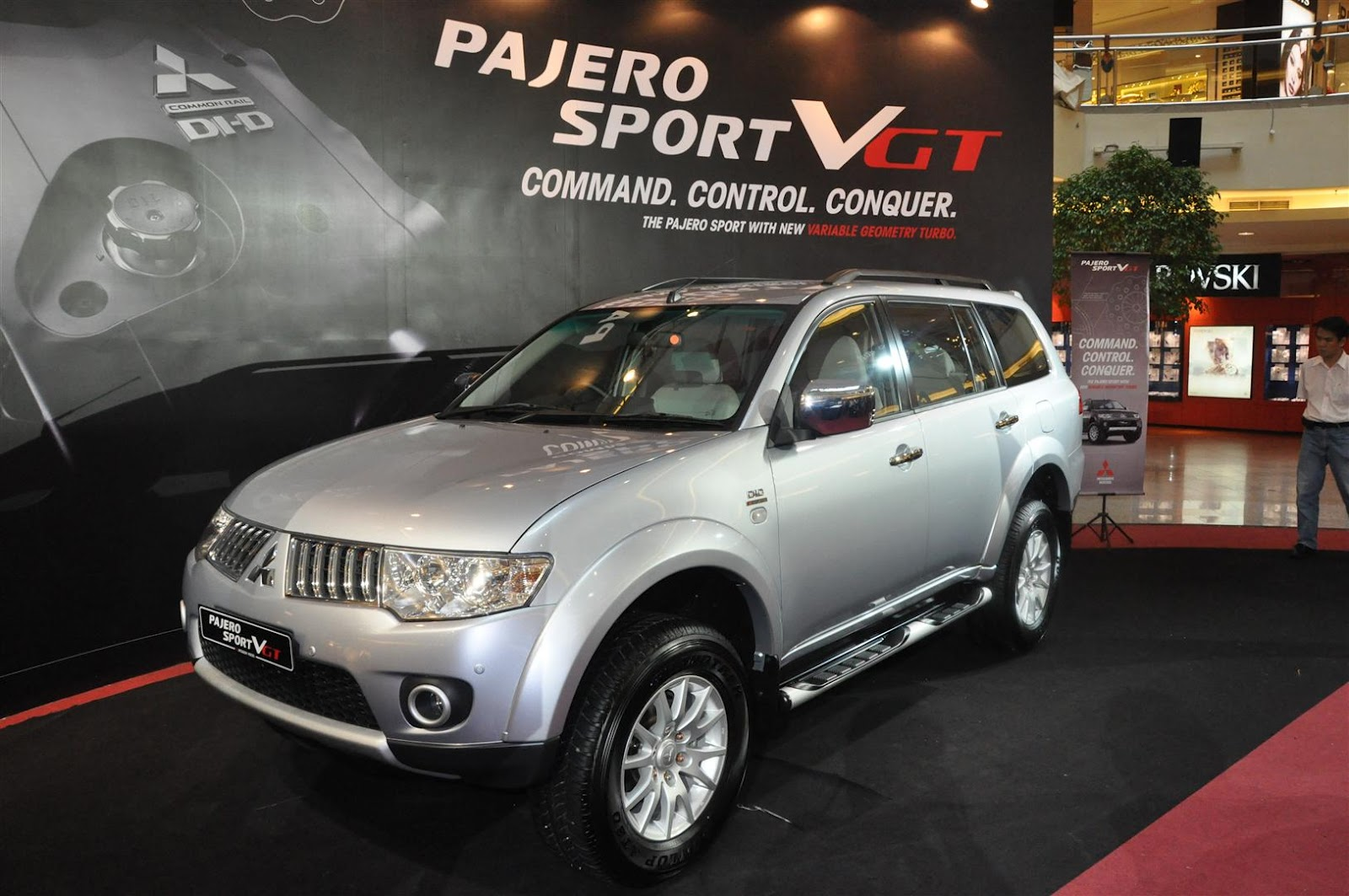 The new Pajero Sport VGT will be sold alongside the Pajero Sport GS