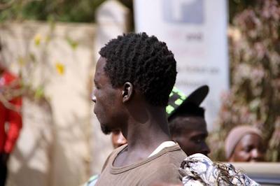 supporters protest for dokpesi in Abuja photo