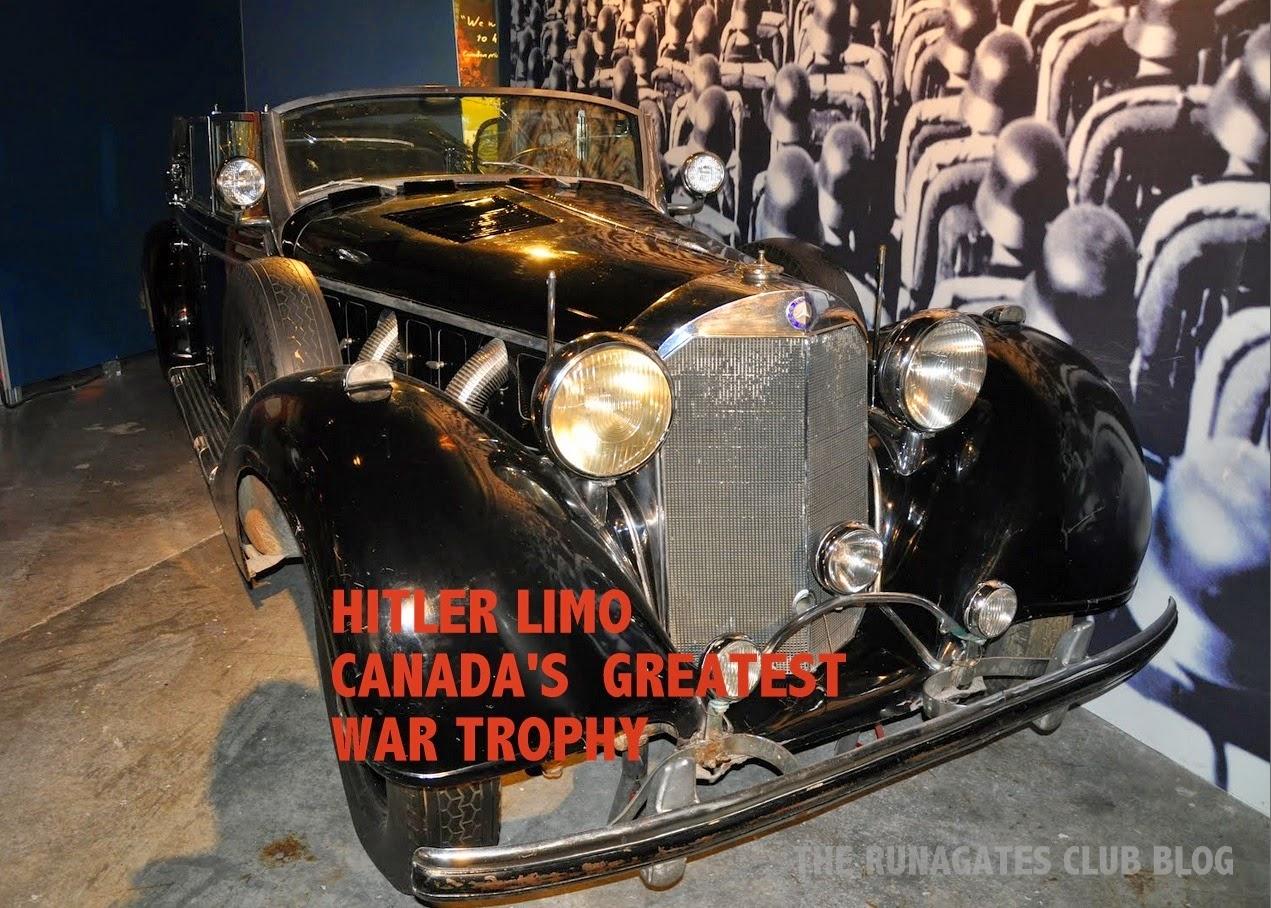 Hitler Limo - Canadian War Museum
