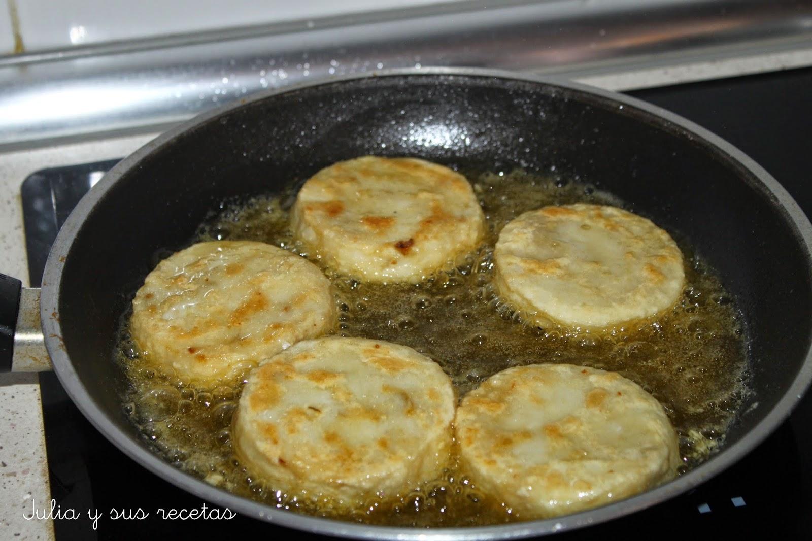 Julia y sus recetas medallones de merluza en salsa - Cocinar merluza en salsa ...
