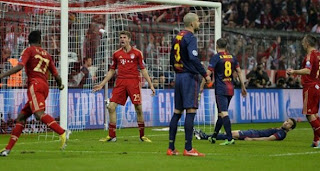 Video Gol Bayern Munchen vs Barcelona 24 April 2013