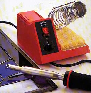 weller soldering iron how to use weller soldering iron. Black Bedroom Furniture Sets. Home Design Ideas