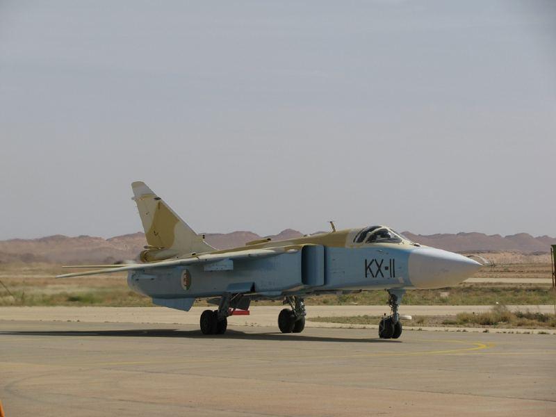 Fuerzas Armadas de Argelia SU-24