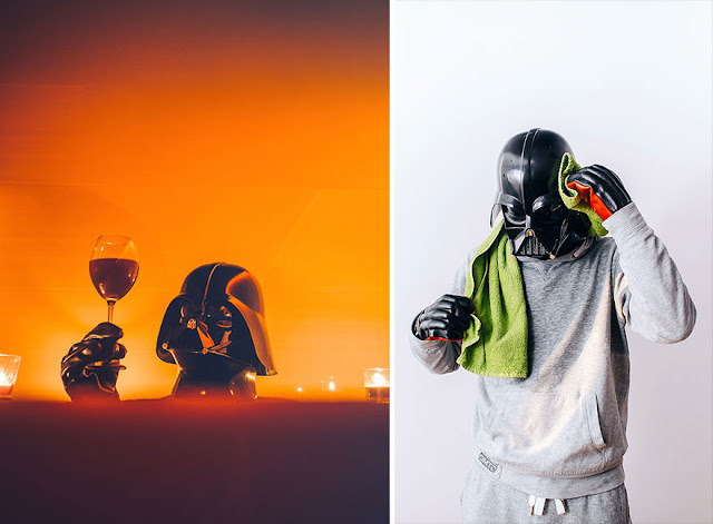 Darth Vader релаксира