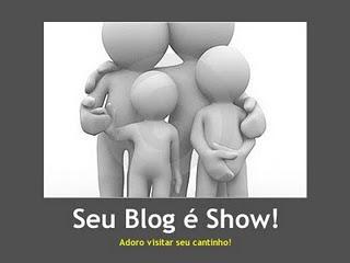 """Terceiro selinho. Presente da Jaque da Julia do blog """" A nossa princesinha"""""""