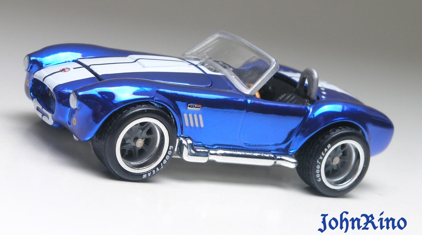 First look hot wheels rlc commemorative shelby cobra 427 s c by john rino