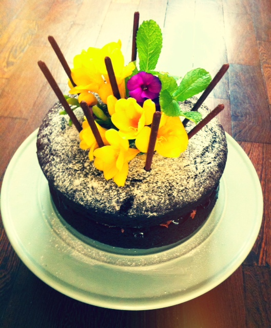 Buttercup Days: The Best Kind Of Birthday Cake Is A Chocolate One