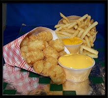 CHEEZY SAUCE YUMMY ! MEH TRY..:)