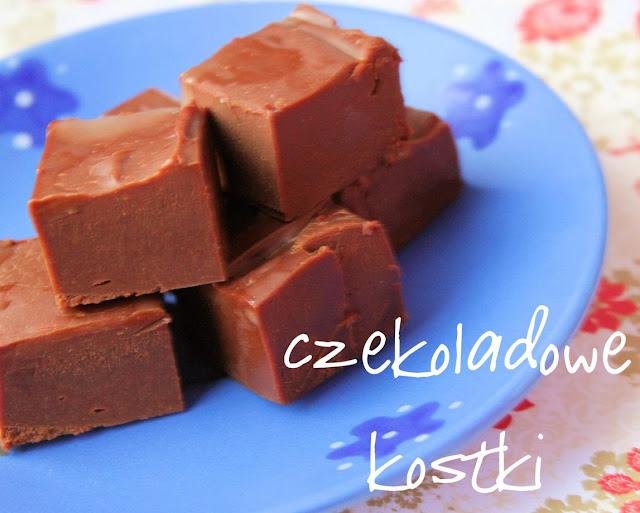 czekoladowe kostki