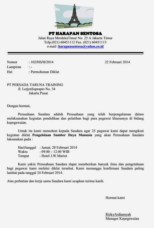Image Result For Bentuk Surat Indented Style
