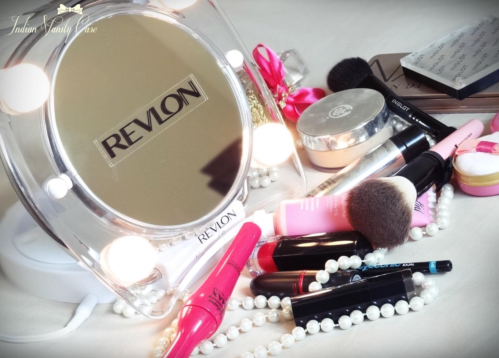 indian vanity case revlon hollywood lighted make up mirror love. Black Bedroom Furniture Sets. Home Design Ideas