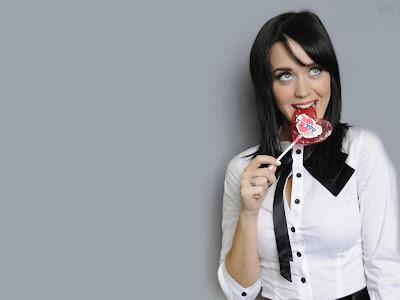 Katy Perry Look Cute in School Dress Wallpapers cute girl