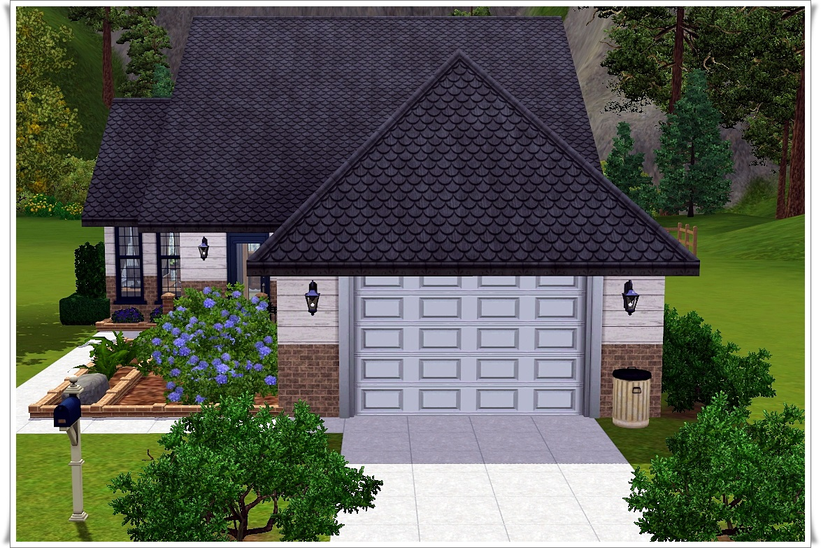 My sims 3 blog small ranch house by amanda for Ranch house blog