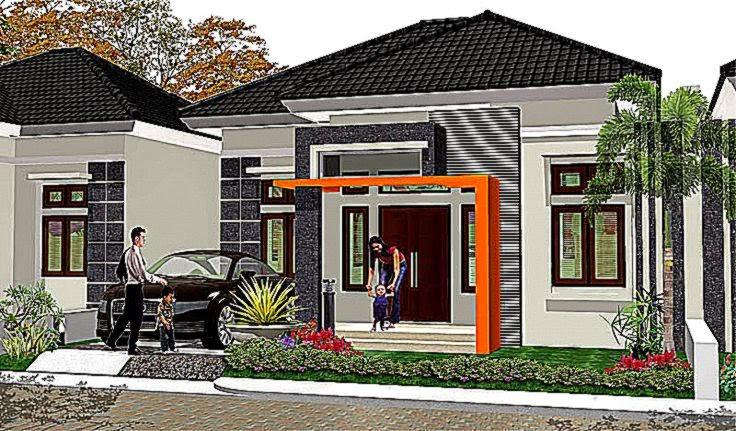 Contoh Desain Model Rumah Minimalis Unik Dan Sederhana Harga Murah