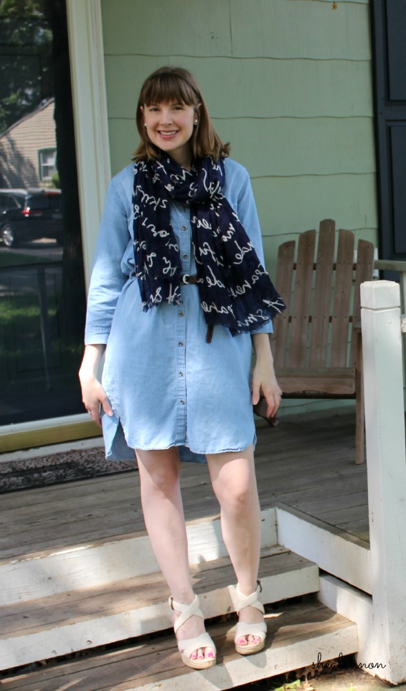 Chambray Dress for Work | www.shealennon.com